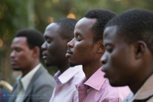 Tanzanians Meditating