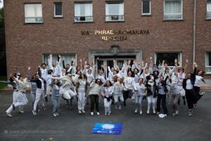 Happy Participants at Peace Revolution Ffth European Fellowship
