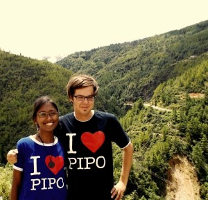 PIPO planning trip in Bhutan