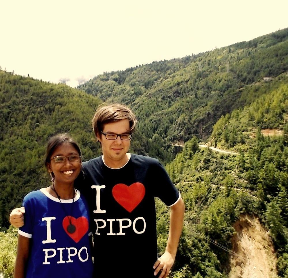PIPO planning trip in Bhutan