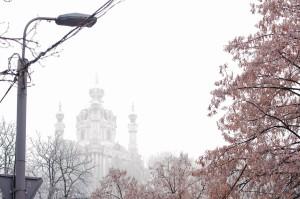 Snowy Ukraine
