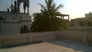 Rooftop in India