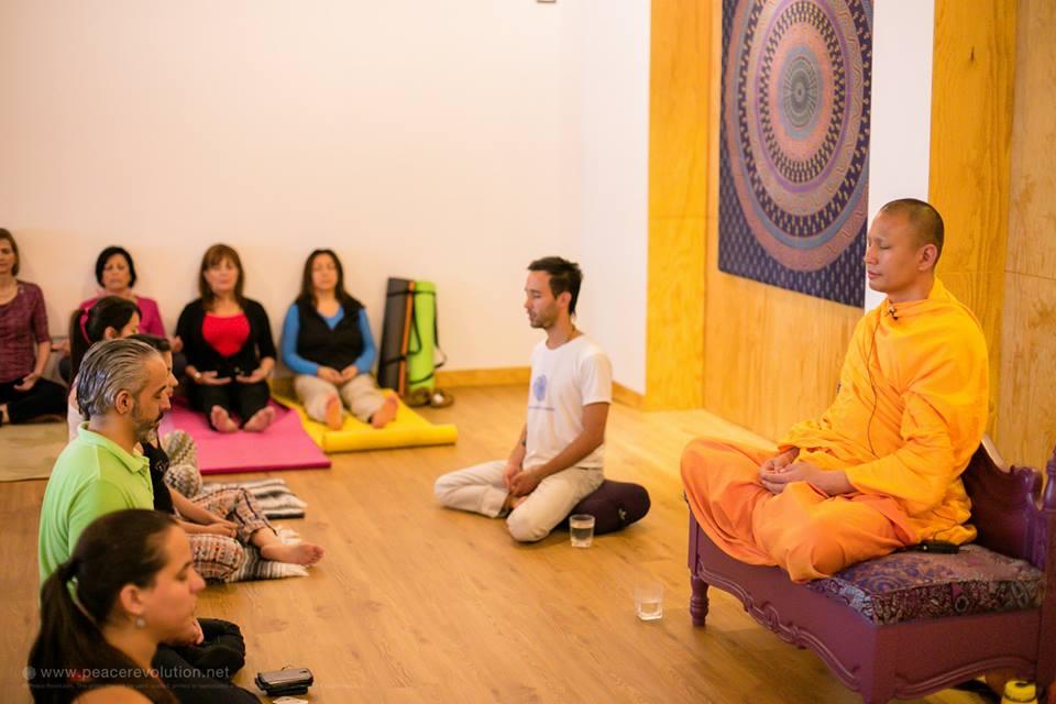 Peace Revolution Mindfulness & Meditation event in Guatemala