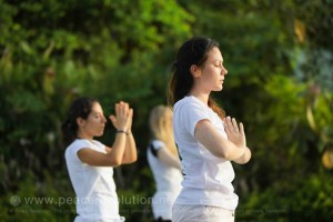 Practising loving-kindness meditation on Koh Yao Noi, Thailand