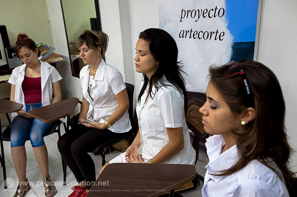 Meditation Event in Latin America