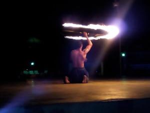 A Fire Dancer