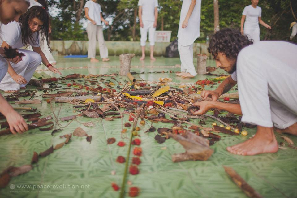Collective Creativity Artistic Meditation Retreat Peace Revolution