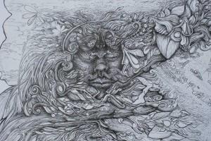 Creativity in Drawing. Artistic Meditation Retreat Peace Revolution