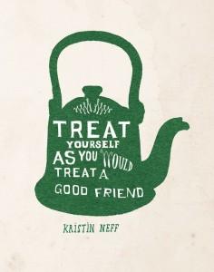 Quote by Kristin Neff self compassion teacher and researcher