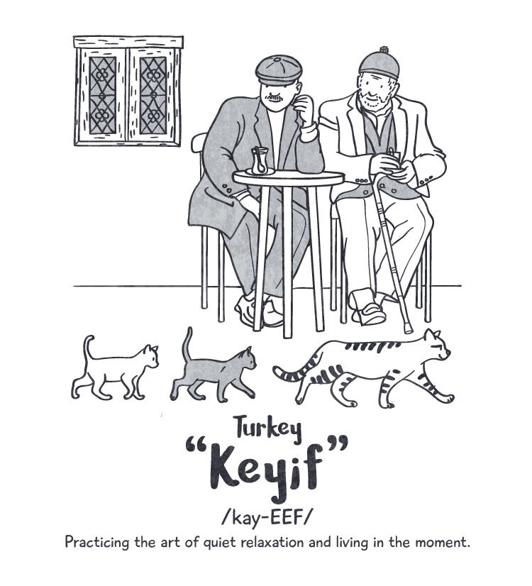 Happiness: 'keyif' Peace Revolution