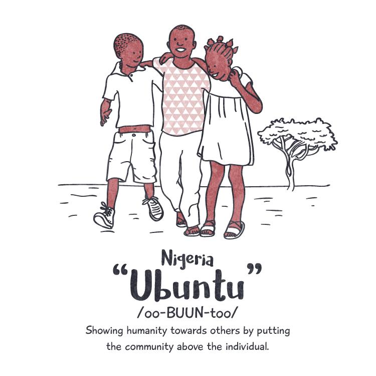 Happiness: 'ubuntu' Peace Revolution