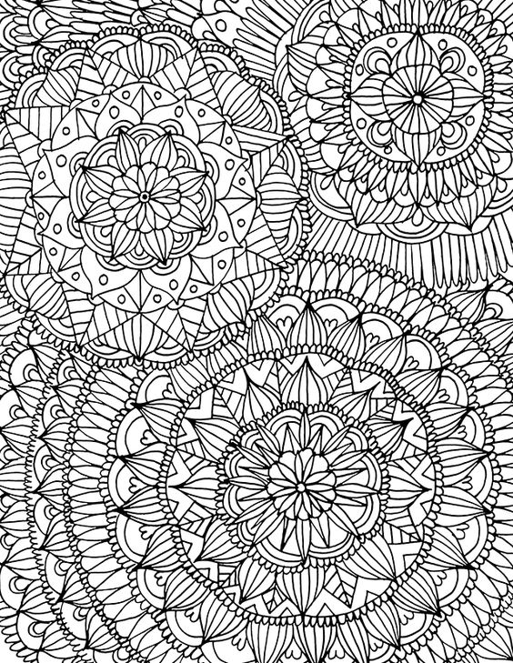 mandala coloring pages as therapy - photo#32