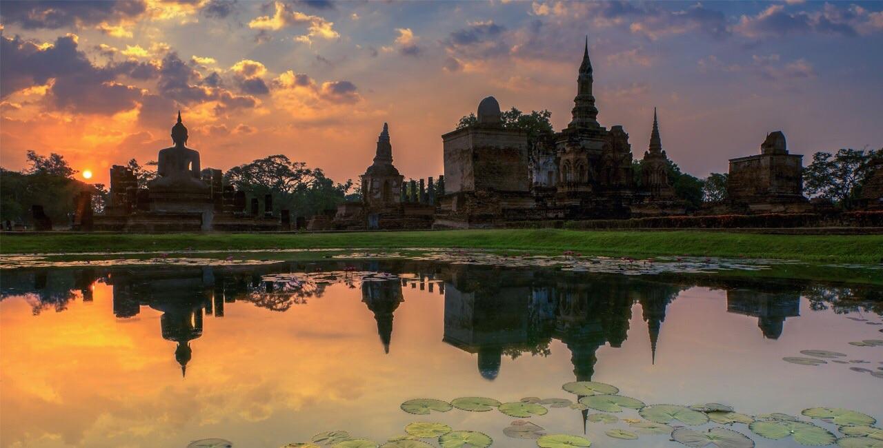 Sukhothai Retreat view